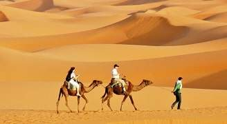 excursion merzouga dromadaires