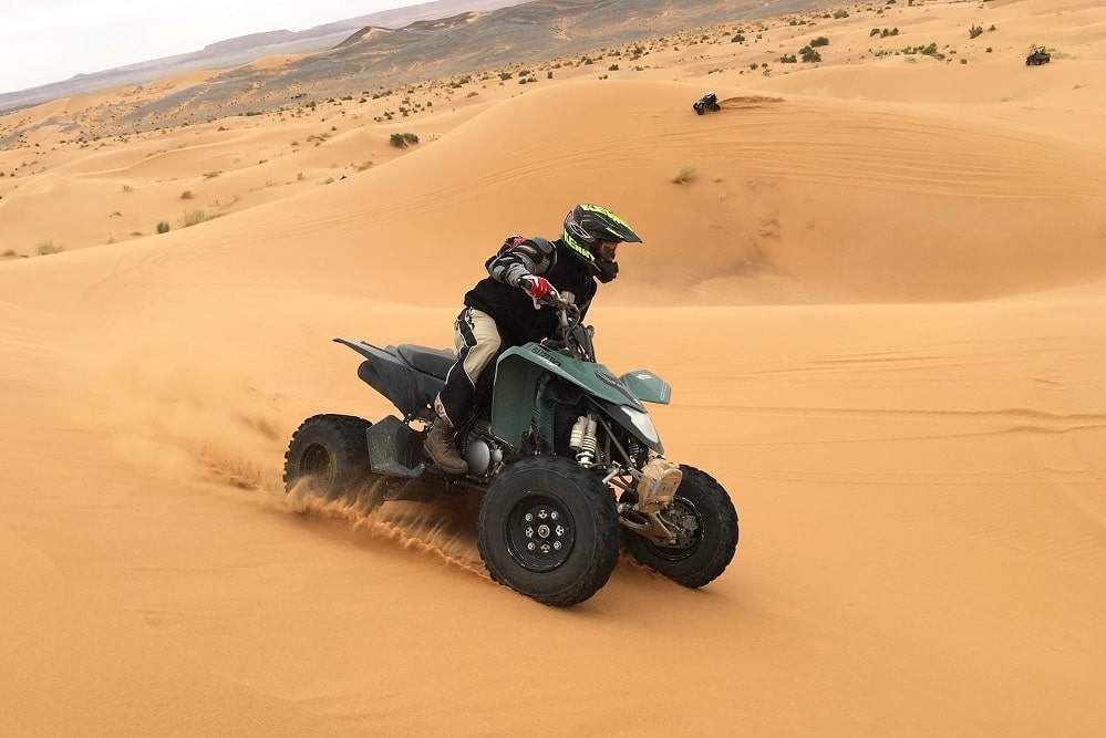 quad Sahara Maroc