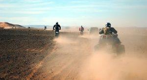 Marrakech quad riding