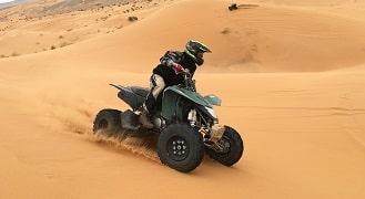 Merzouga quad biking