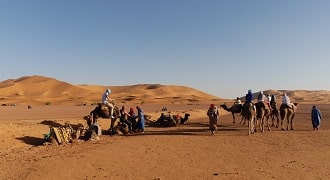 excursion merzouga 2 jours