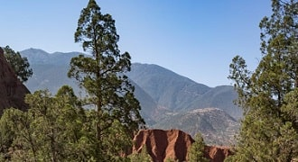 hike in the atlas morocco